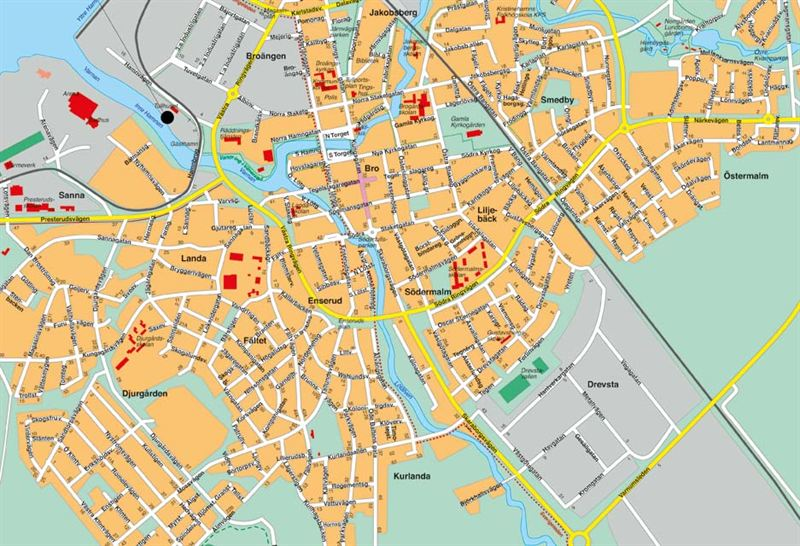 karta kristinehamn karta kristinehamns gästhamn   Kristinehamns Kommun karta kristinehamn