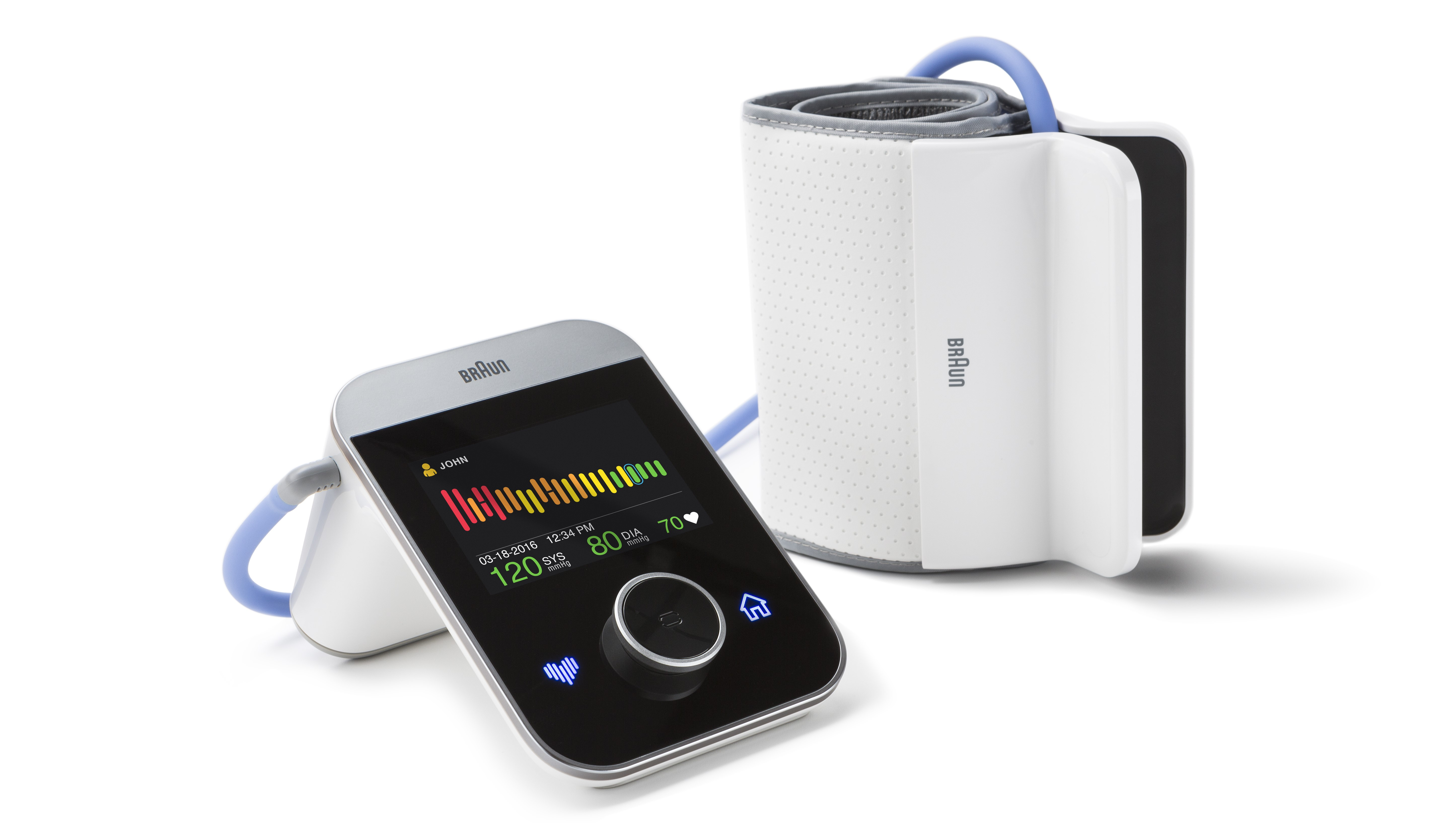Braun lanserar - Få grönt ljus för ditt hjärta - nästa generations  blodtrycksmätare för hemmabruk. 1ba1e05787b90