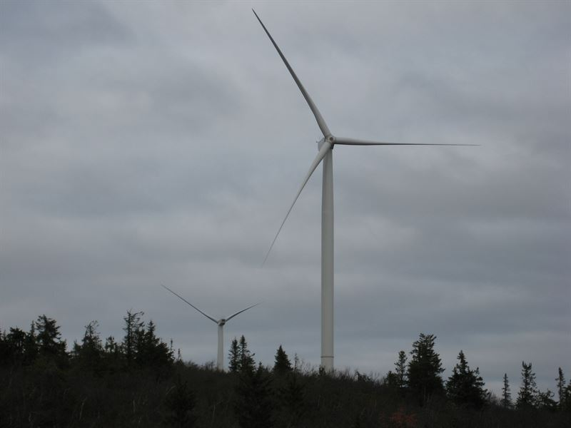 Blaiken two turbines