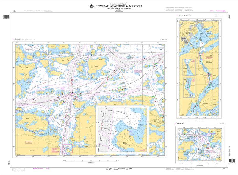 Uusia Karttoja Saaristomerelle Ja Selkamerelle Liikennevirasto