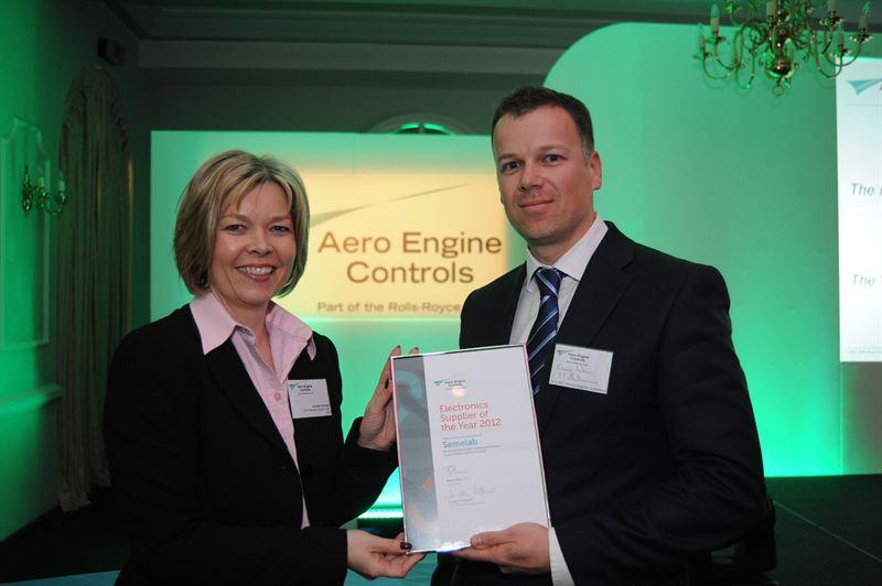 TT electronics named as Best Electronics Supplier 2012 - TT