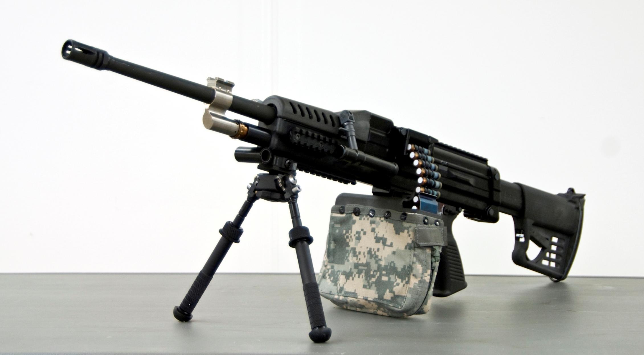LSAT Light Machine Gun - Textron Systems