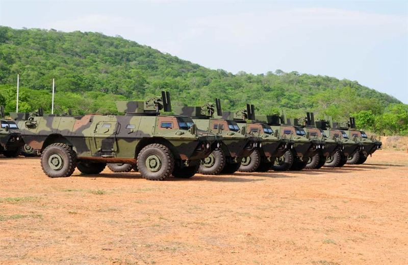 Colombian Army Acquires 28 Additional Commando Armored