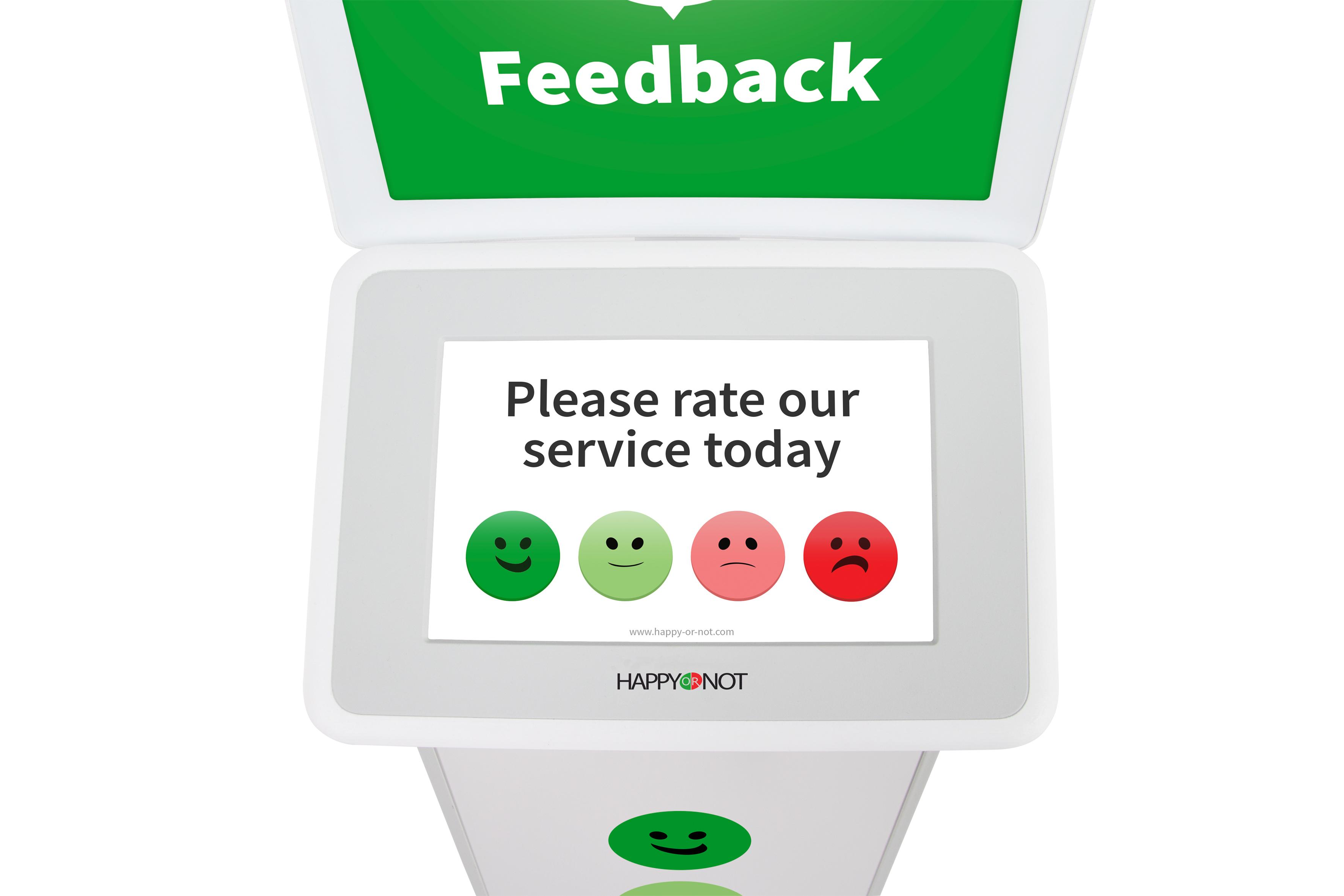 Smiley Touch interface close EN - HappyOrNot