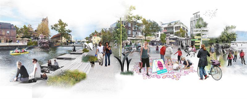 Torshlla visionsskiss Utvecklingsplan 2030