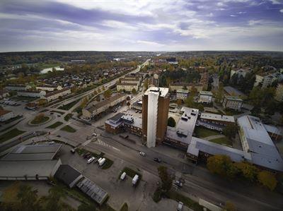 Mtesplats Finnstugan/suomitupa - en finsk mtesplats fr