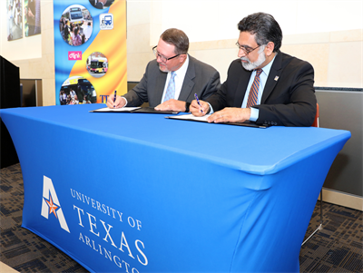 UTA, Dallas Area Rapid Transit partner to offer