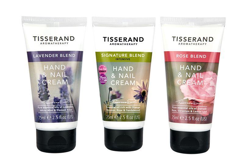 Tisserand Aromatherapy Hand Nail Cream Range First Natural Brands