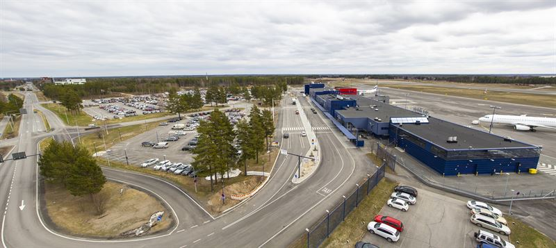 Oulun Lentokenttä Pysäköinti