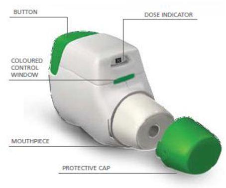 kol medicin inhalator
