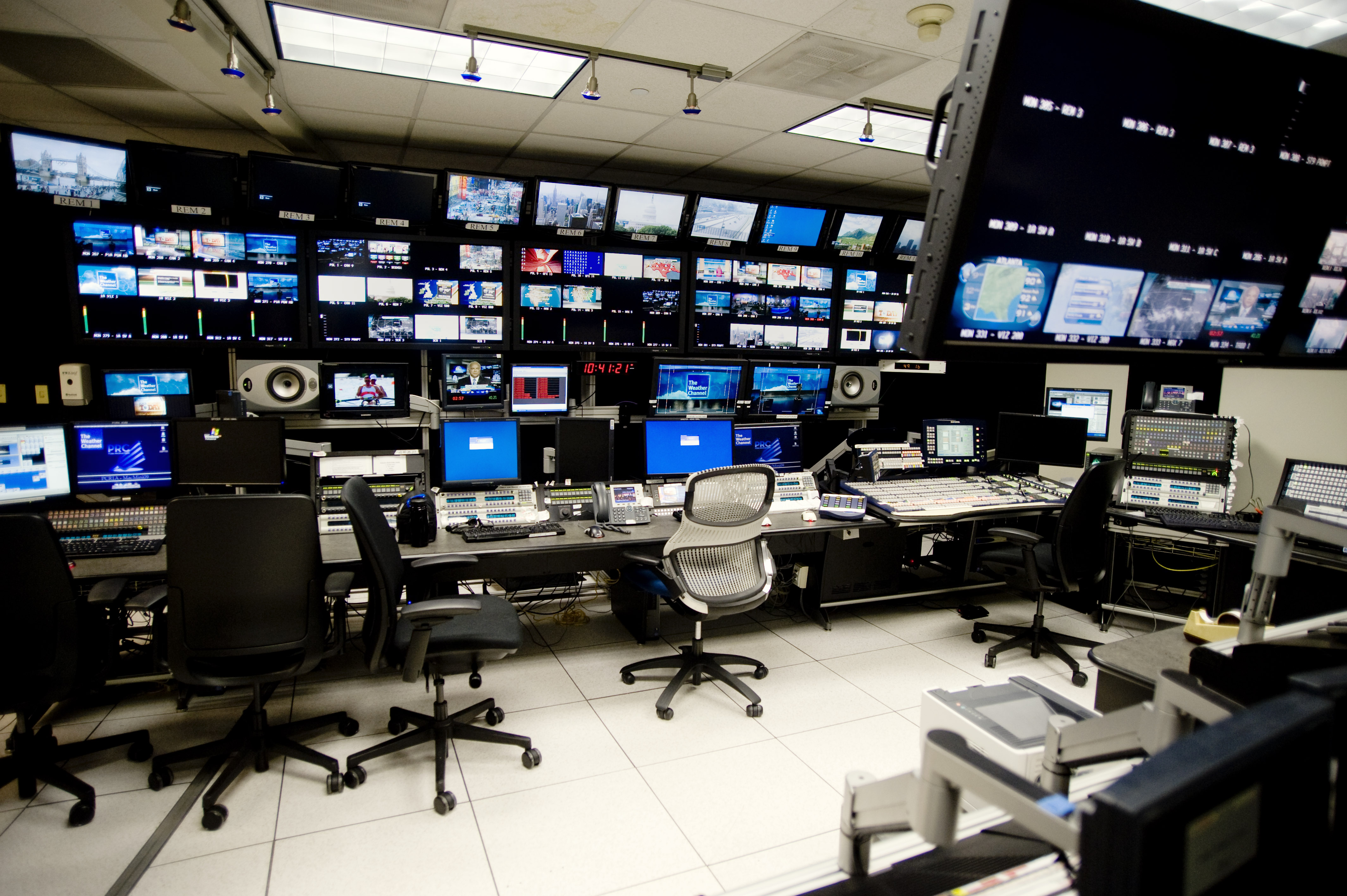 The Weather Channel Control Room Electrosonic Group