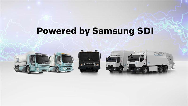 Volvo Group будет разрабатывать аккумуляторные батареи совместно с Samsung SDI