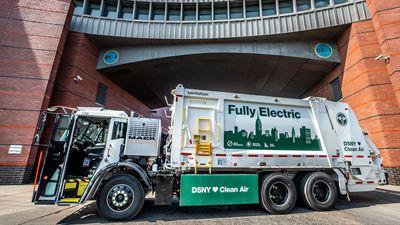 New York City Department of Sanitation köper sju Mack® LR Electric