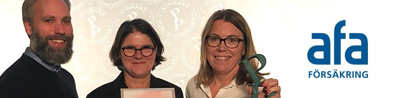Publishingpris 2018