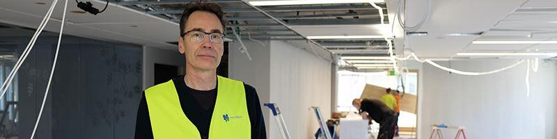 Mikael Forsman professor i ergonomi vid Kungliga Tekniska Hgskolan