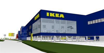 Peab bygger nytt IKEA varuhus i Kållered Peab