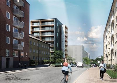 Peab bygger hyresrätter i Karlskrona