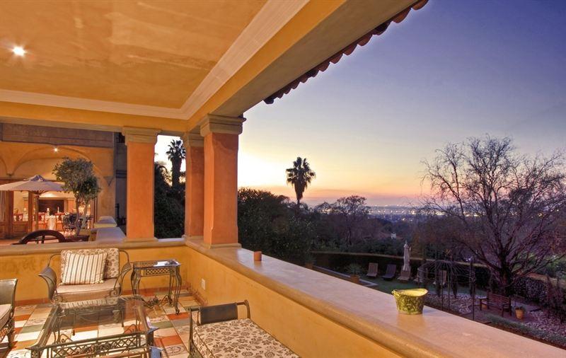Castello Di Monte In Pretoria Sunset View Ethos Marketing