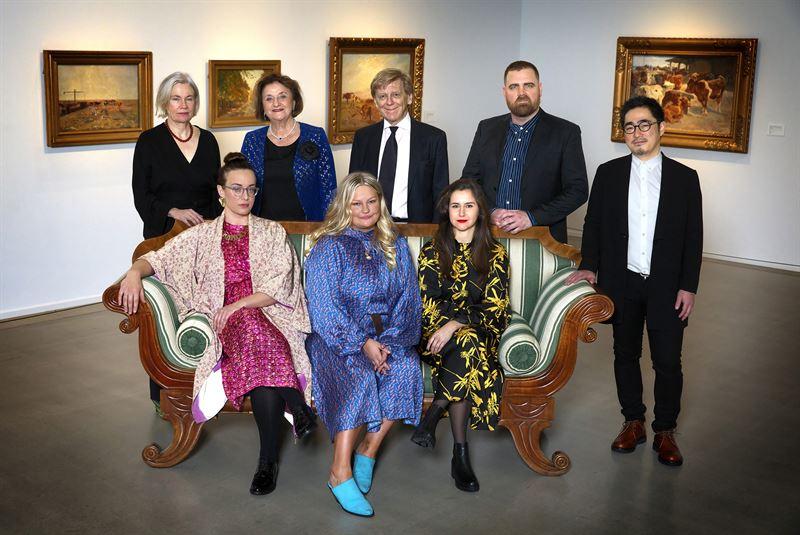Gruppbild Stenastiftelsens stipendieutdelning 2019 Foto Magnus Gotander