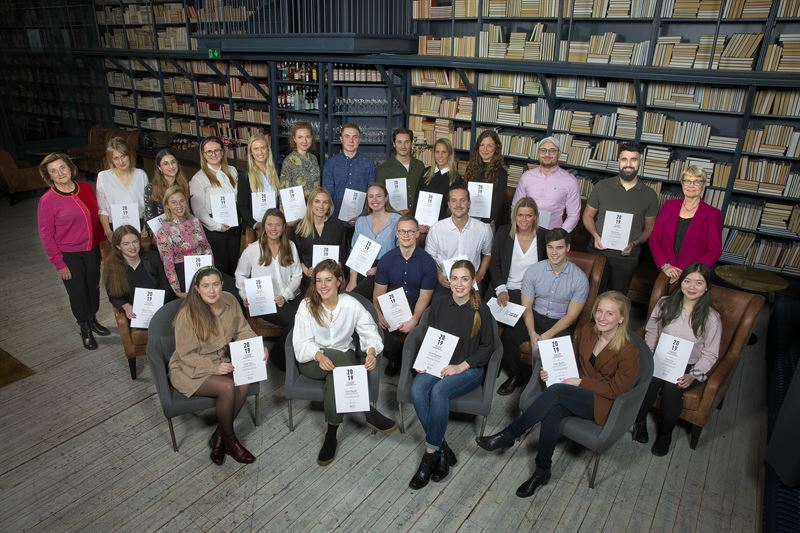 Stenastiftelsens resestipendiater 2019 Foto Magnus Gotander