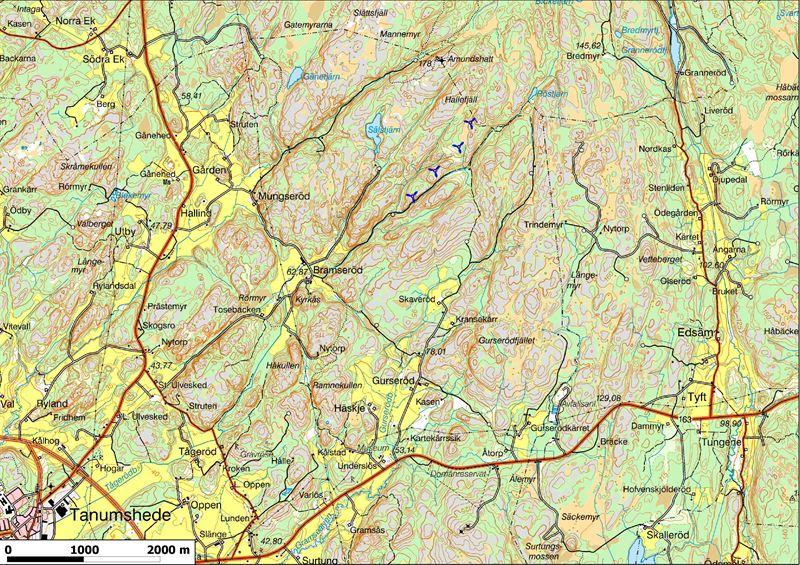 karta över tanums kommun