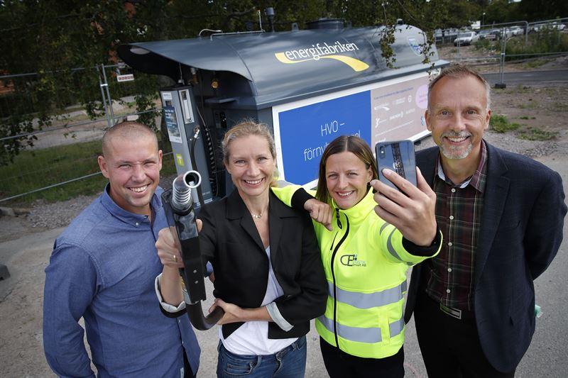 De fyra aktrerna bakom HVOtanken i Ebbepark