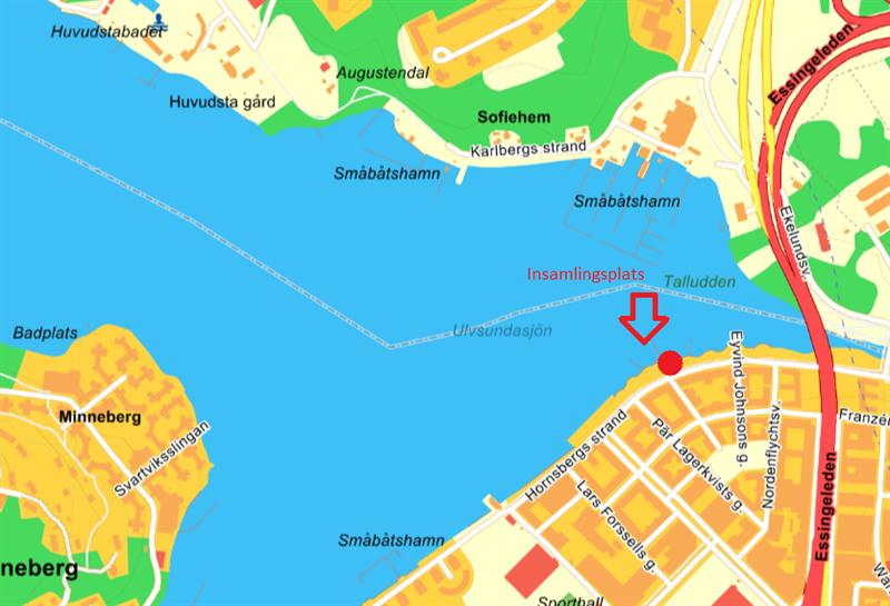 Insamlingsplats Hornsbergs strand