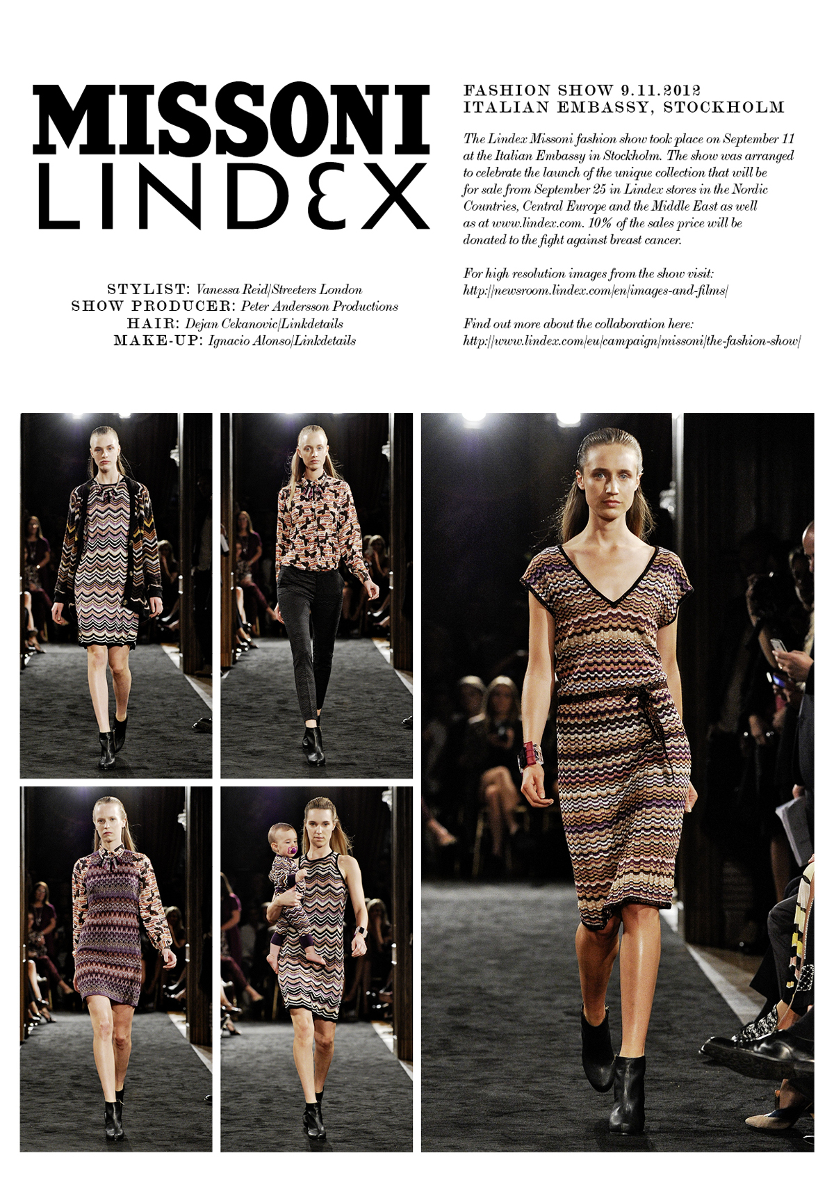 lindex missoni fashion show | lindex group