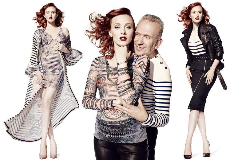 Značka Lindex sa spojila so slávnym návrhárom Jeanom Paulom Gaultierom za  účelom predstavenia jesennej kolekcie 767d2e95c06