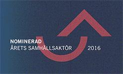 Logga årets samhällsaktör