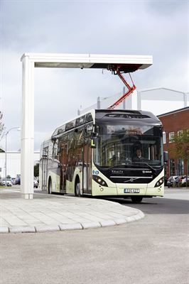 Swedish town of Värnamo goes electric with Volvo Electric Hybrid