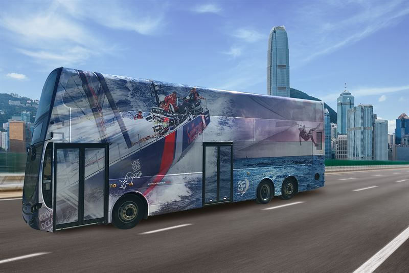 Volvo Buses introduces new Euro VI double-decker - Volvo Buses