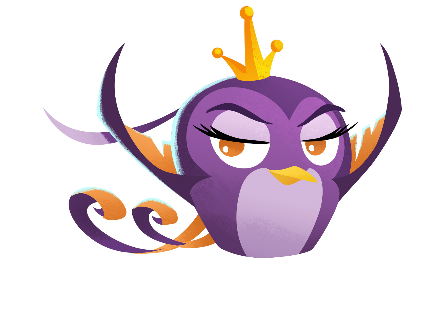 Angry Birds Stella character Gale - Rovio Entertainment Corporation