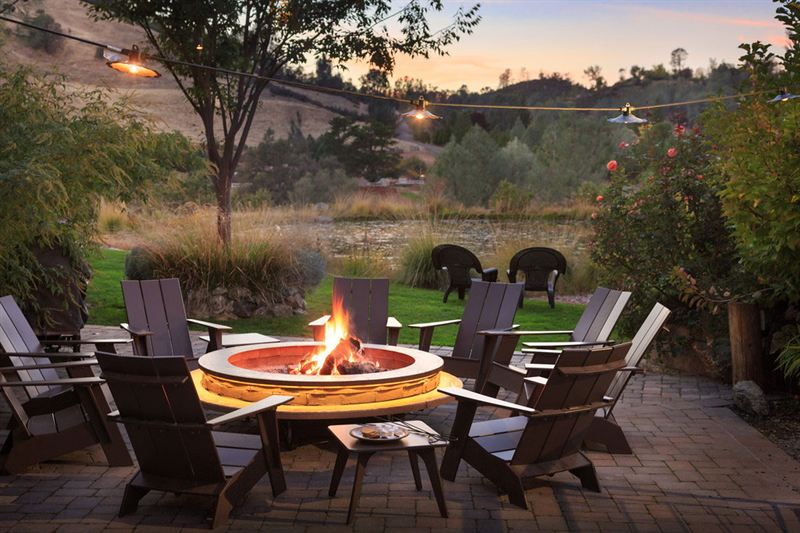 Eden Vale Inn Fire Pit California Association Of