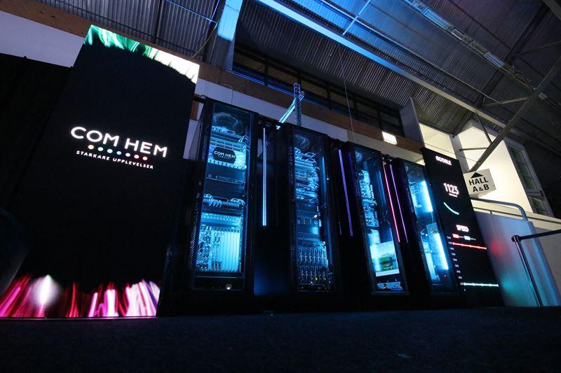 Com Hem s POP at DreamHack Summer 1