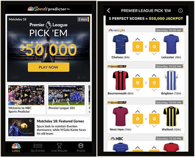 "NBC SPORTS LAUNCHES ""PREDICTOR"" FREE-TO-PLAY GAME PLATFORM"