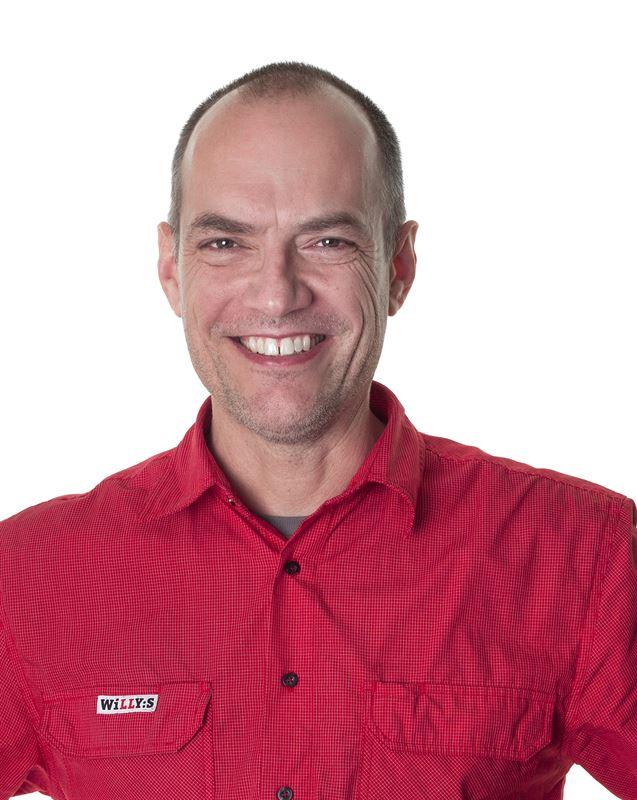 Butikschef Jan Hjerpe
