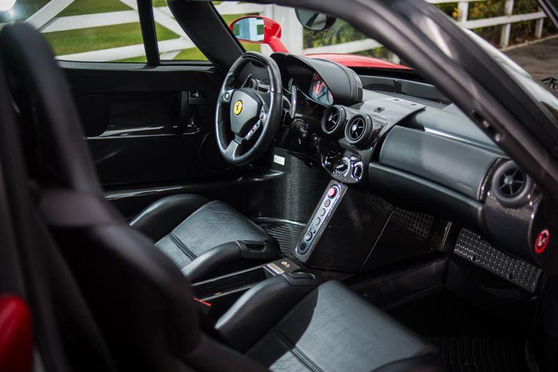 2004 Ferrari Enzo Interior Silverstone Auctions