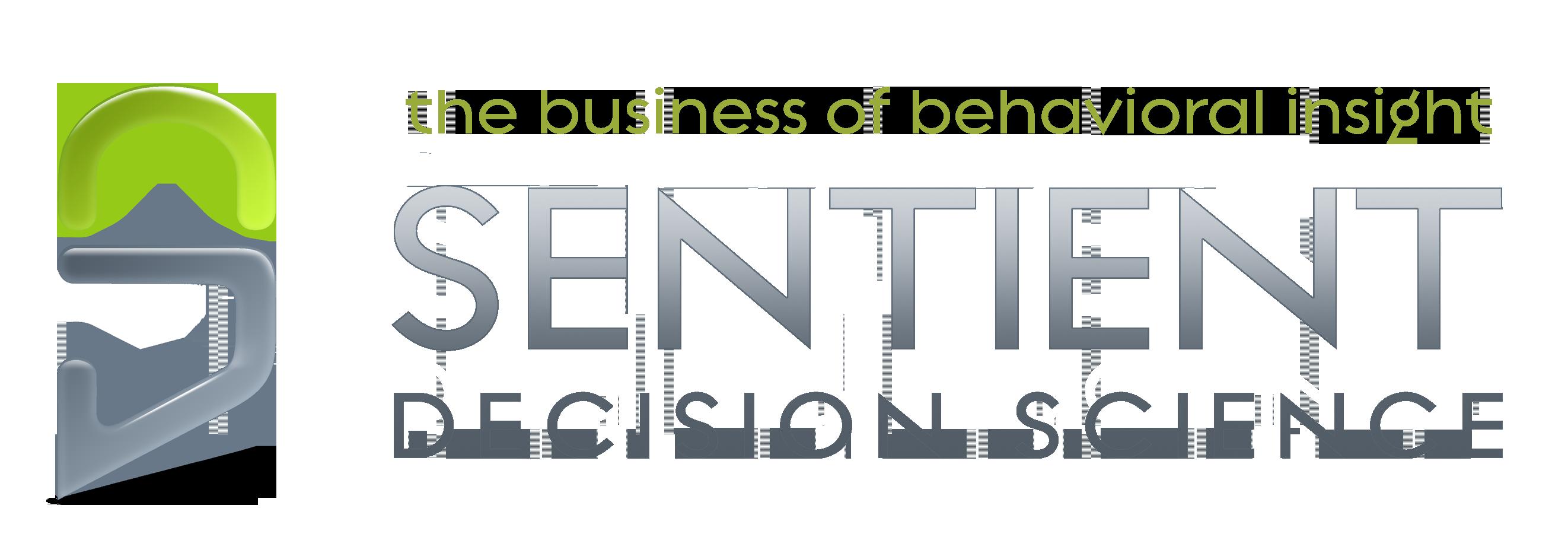 Sentient Decision Science Logo - Schneider Associates, Inc