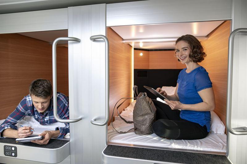 Stena Line installs Japanese sleeping pods - Stena Line