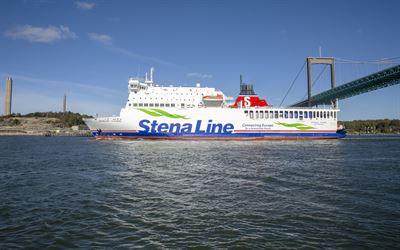 Stena Line storsatsar på högsäsongen - sätter in tredje fartyg på Göteborg-Frederikshavn
