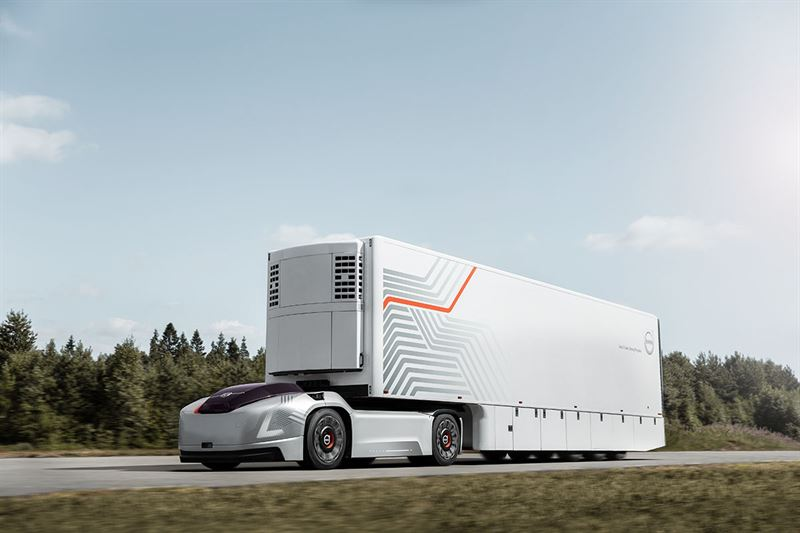 Volvo Trucks Presents Future Transport Solution With