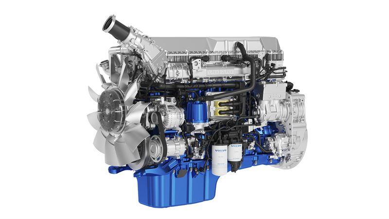 Engine 2 45 Left Volvo Trucks