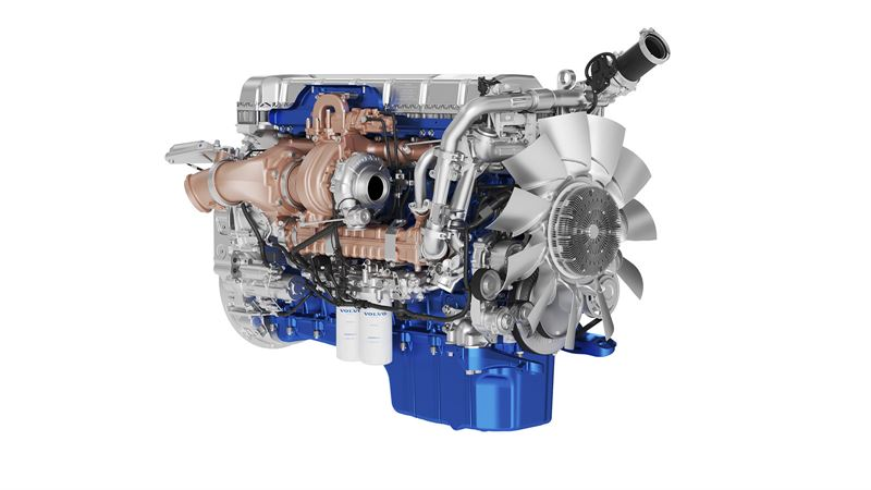 Engine 1 45 Right Volvo Trucks