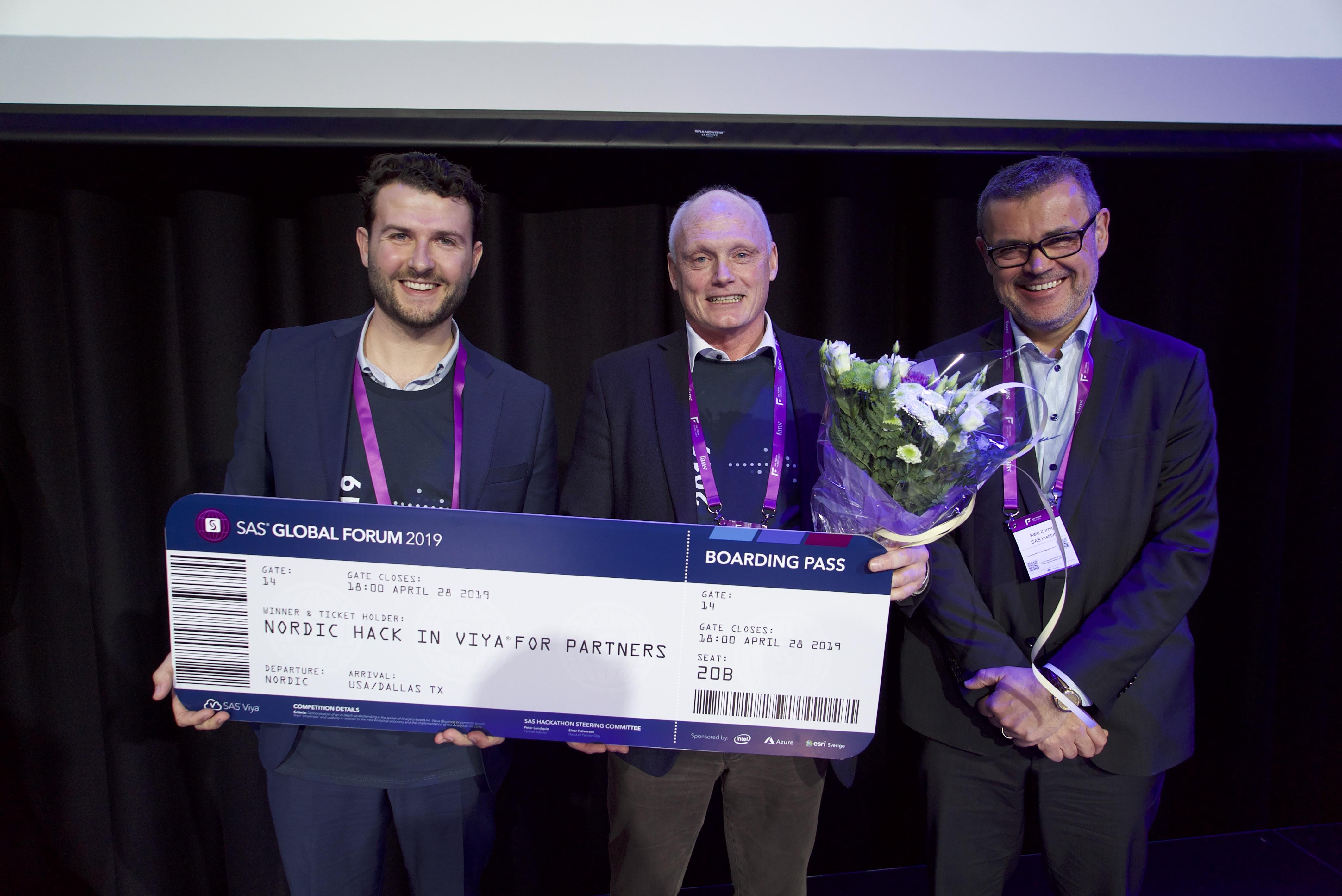 Knowits algoritm för ansiktsigenkänning delad vinnare i SAS® Hackathon