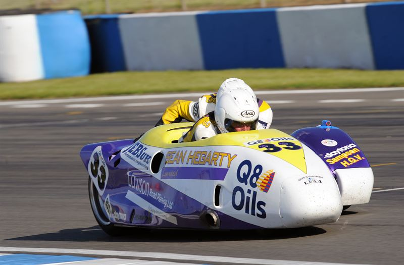 Hegarty Lawson Q8Oils Racing Dominates Recent Sidecar Events