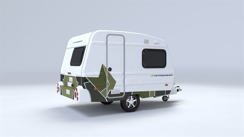 liten husvagn 750 kg