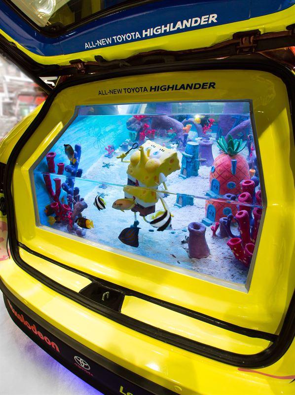 Identity ATM Toyota Highlander Fish Tank Image 1 - Roland