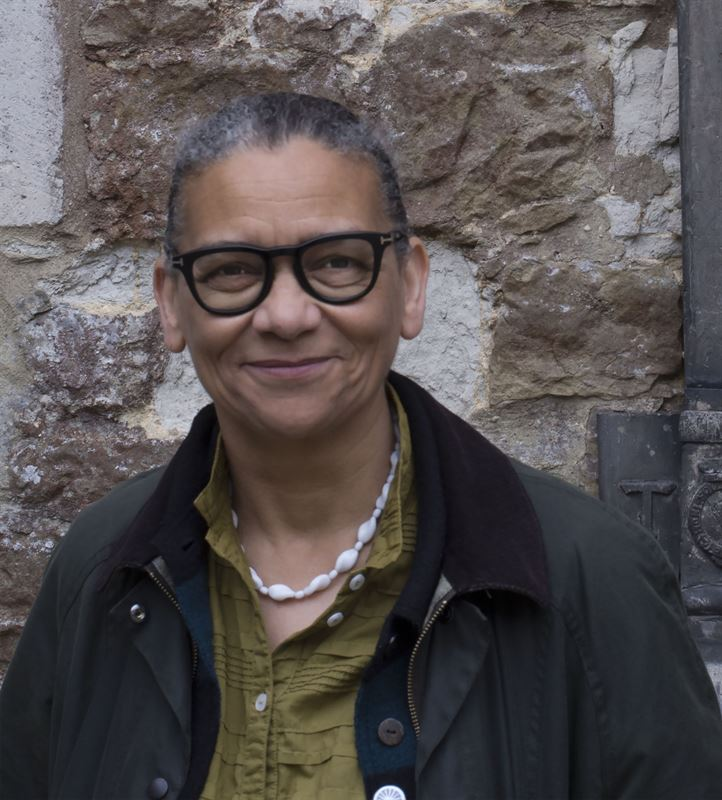 Turne Prize Winner Lubaina Himid takes part in Not a Single Story II at Wans Konst 2019 Photo Ingrid Pollard