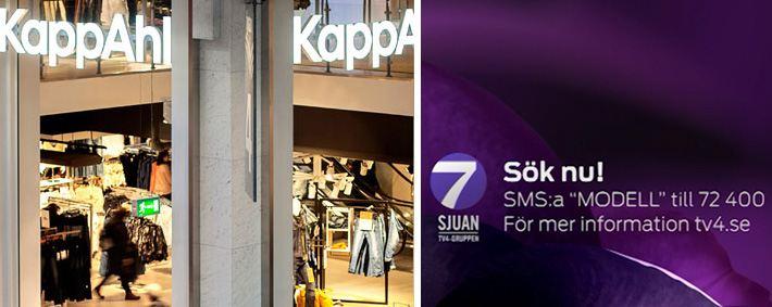 KappAhl performs model search on TV - KappAhl
